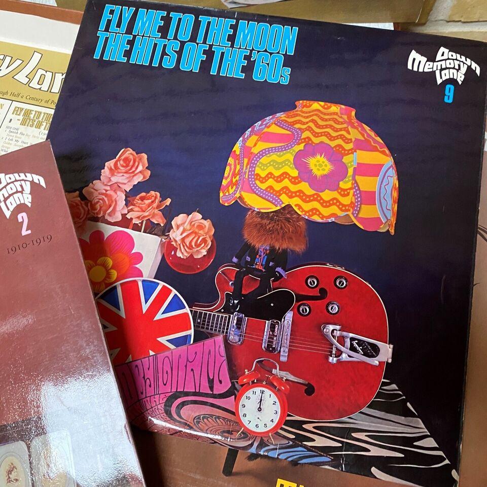 LP, Various, Down Memory Lane