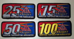 ATA Trap 25 50 75 100 Shooting Patches