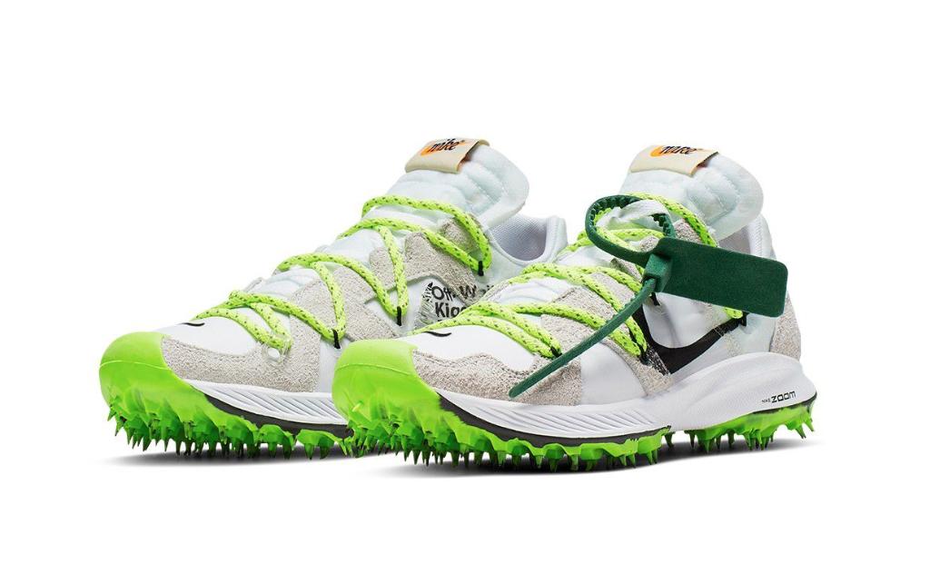Hueso X Nike Zoom Terra Kiger 5 blancoo metálico plateado tamaño UK5 confirmedpair