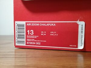 Details about New Nike Air Zoom Chalapuka Running Trainers 872634 002 Shoes Men's Size 13 $200