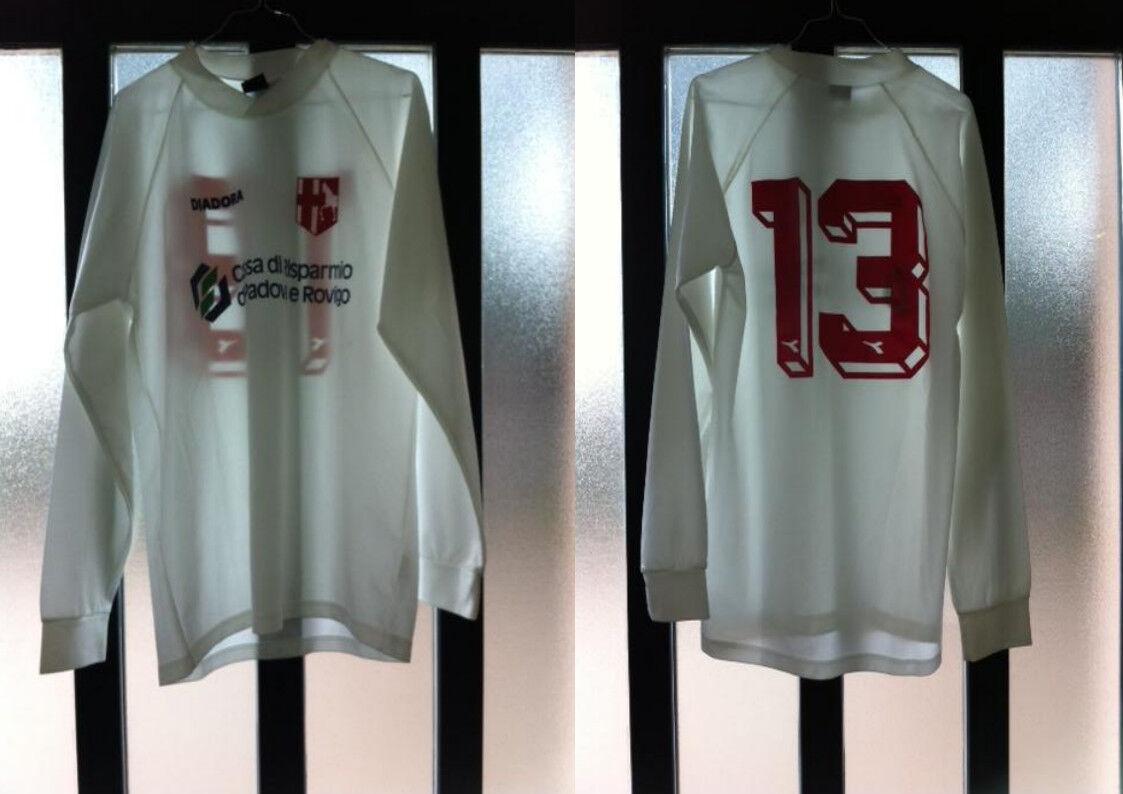 Maglia shirt padova nr 13 match worn indossata Diuominiione XL usata diadora