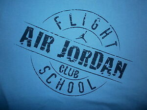 Air-Jordan-Vol-Ecole-T-Shirt-Nike-Jumpman-Michael-Retro-Vieilli-Jeunesse-XL