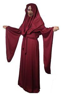 Ladies-Deluxe-Red-Woman-Lady-Melisandre-Halloween-Fancy-Dress-Costume