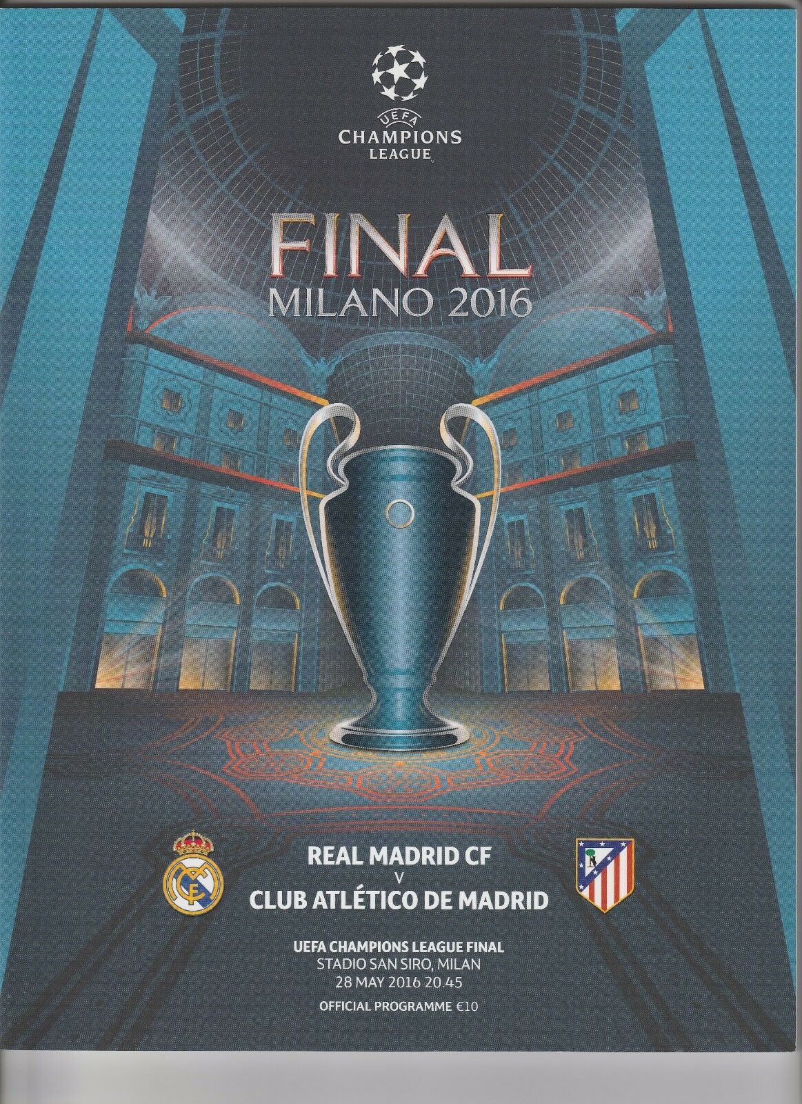 Orig.PRG   Champions League  2015 2015 2015 16  FINALE    REAL MADRID - ATLETICO MADRID  | Kunde zuerst  1f2e6d