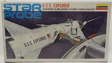 SPACE : STAR PROBE U.S.S. EXPLORER LINDBERG MODEL KIT - VINTAGE (MLFP)