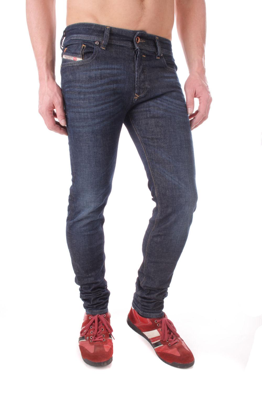 Diesel Sleenker  0608D_Stretch Herren Jeans Hose Slim Skinny