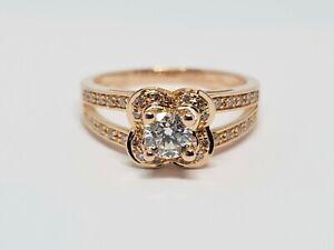 bague diamant 0.40 carat