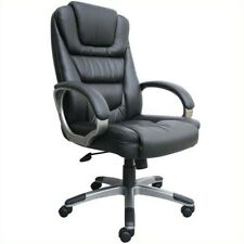 Boss Office Products Ntr Executive Leather Arm Office Chair