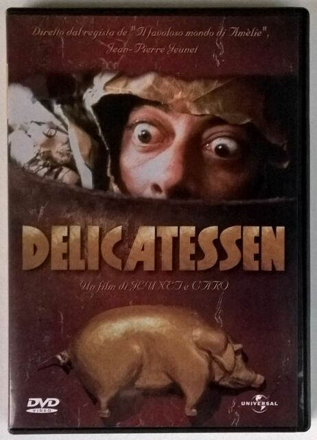 DELICATESSEN DVD ORIGINALE