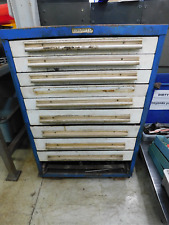 Equipto Industrial 9 Drawer Metal Tool Storage Cabinet 30 X 28 X 44 Tooling