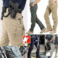 Army Outdoor Tactical Pants Military Cargo Combat Sport Hiking Casual Trousers