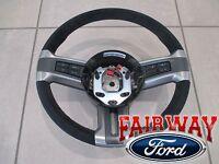10 Thru 13 Mustang Ford Alcantara Suede Leather Steering Wheel Boss 302 -new