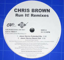 "Chris Brown (4) ‎– Run It! Remixes - Jive 82876-78933-1 VINYL 12"" HIP HOP"