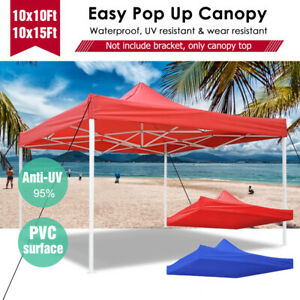 10x10-15Ft-Top-Canopy-Replacement-UV-Block-Sunshade-for-Patio-Gazebo-Tent-Cover