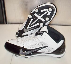 outlet store 312bf 72ac9 Image is loading NIKE-ALPHA-PRO-3-4-D-Football-Cleats-