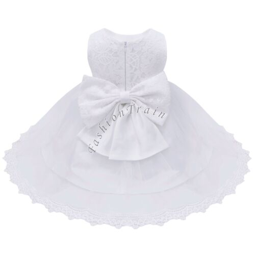 Flower Girl Princess Dress Baby Toddler Party Junior Bridesmaid Wedding Pageant