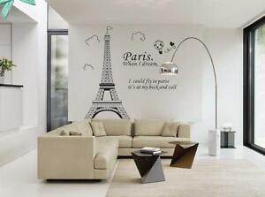 Paris-Home-Decor-Removable-Wall-Sticker-Decal-Decoration