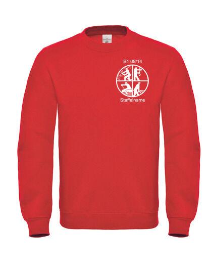 ... Pompiers pression sweatshirt, B pull   C pull B col rond sweat shirts  avec inscriptions ... 2268bc44d98d