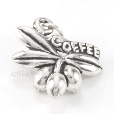 BraceletGourmette solid silver identity 925 coffee beans