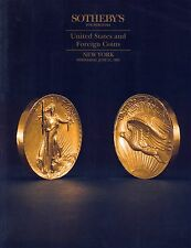 Sotheby 's United States and Foreign COINS New York June 21, 1995
