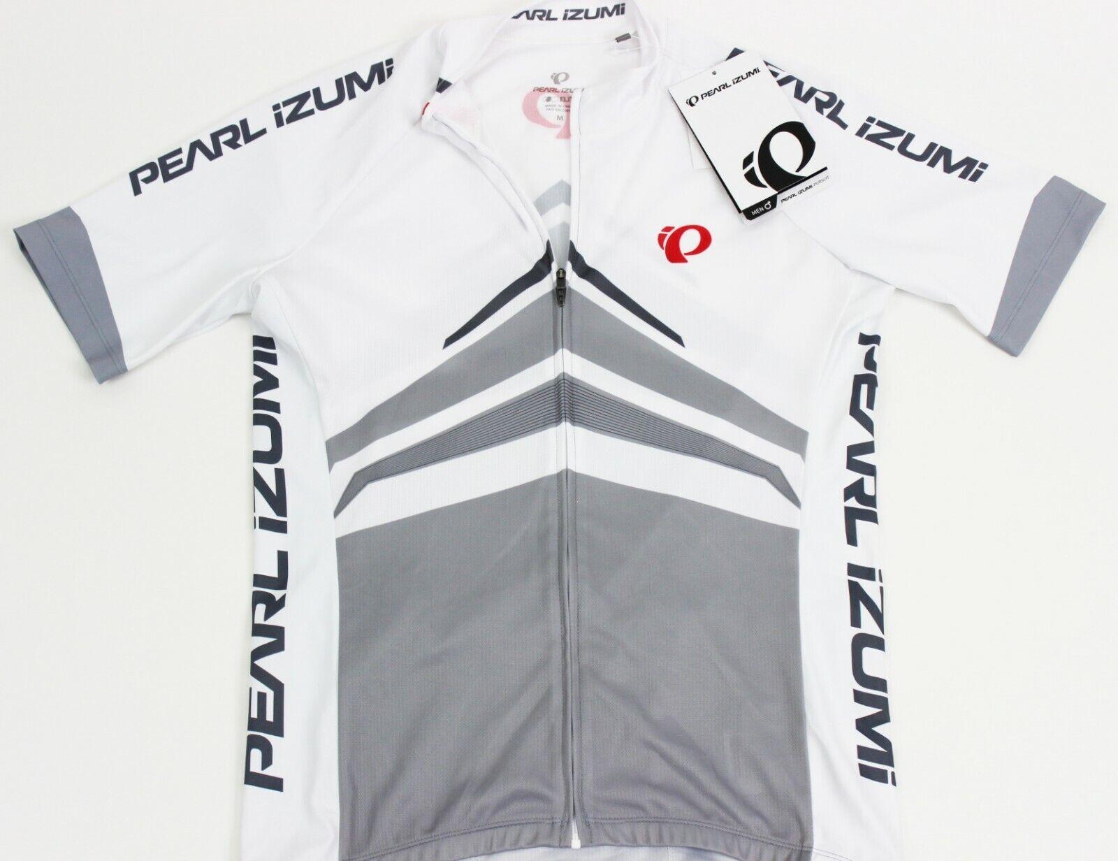 Pearl Izumi - Ride Men's  Elite Pursuit Jersey, Delta White, Small  unique shape