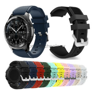 Details About Samsung Gear S3 Smart Watch Band Strap Rugged Silicon Sport Replacement Bracelet