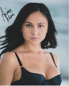 Image Is Loading Ariana Marie Adult Video Star Signed 8x10 Photo