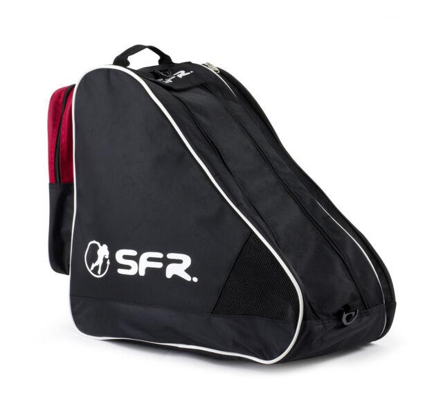 SFR Heavy Duty Large Ice   Skate Bag II Black red Multiple ... 6e4956b39f326