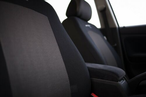 Sitzbezüge Sitzbezug Schonbezüge für Hyundai i10 Dunkelgrau Sportline Set