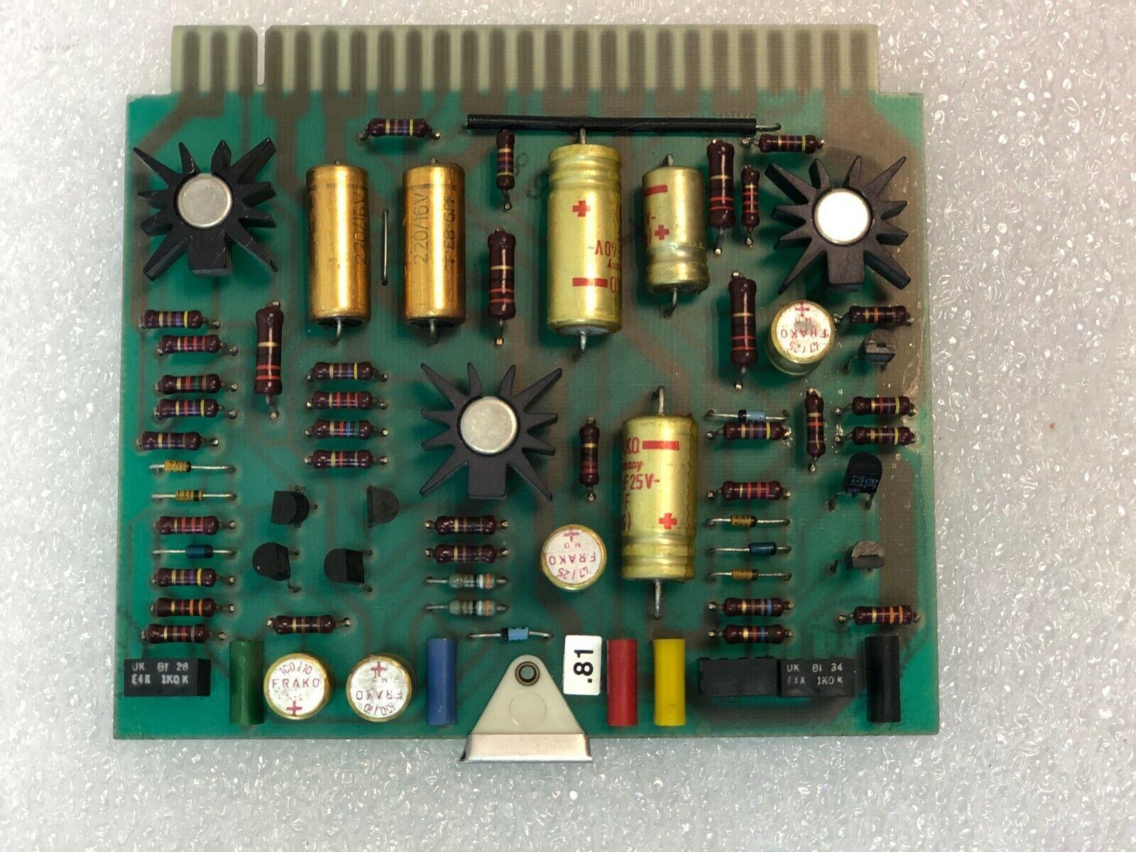Studer A80 1.080.370 Voltage Stabilizer for A80   Tape Transport