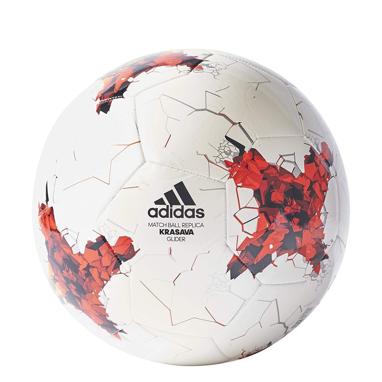 Balón De Fútbol Adidas Krasar Confederación Cup Glider Match Match Match Bola Réplica Tamaño  venta de ofertas