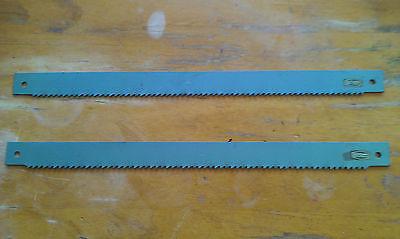 "17/"" x 1/"" 2 Pieces England HSS Power Hacksaw Blade ESC Cyclone 425mm x 25mm 10T"