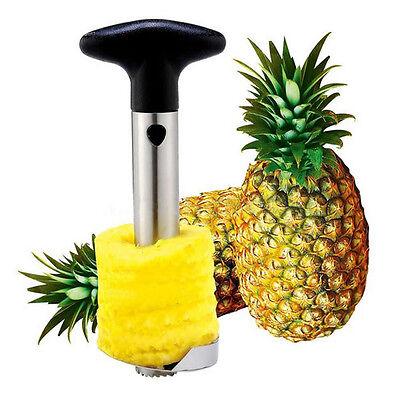 Stainless Steel Fruit Pineapple Corer Slicer Peeler Parer Cutter Kitchen Tool