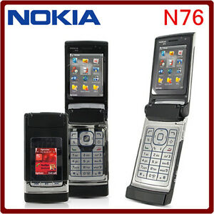 Nokia Flip Phone >> Nokia N76 Unlocked Gsm 3 Color 2mp Bluetooth Symbian Flip Mobile