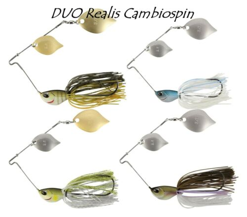 DUO Realis Cambiospin Double Blade 10,5 g Spinnerbaits Farbwauswahl