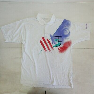 Adidas Stefan Edberg Vintage Shirt Polo Maglia Jersey