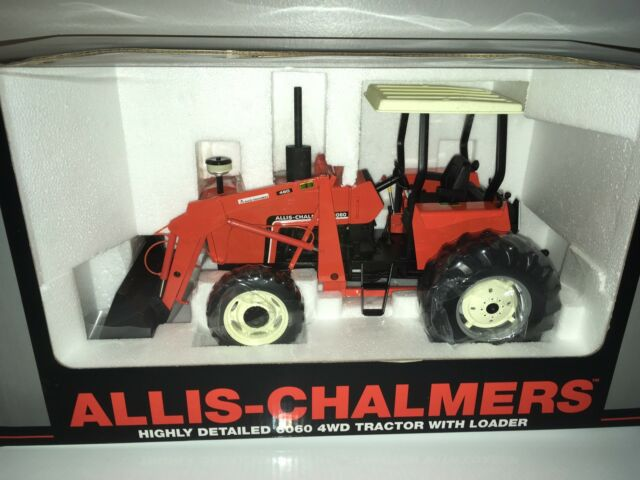 Allis Chalmers 6060 w/FWA & Loader 1/16 Highly Detailed SpecCast