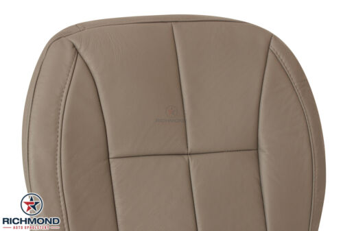 2001-2004 Jeep Grand Cherokee Limited Driver Side Bottom Leather Seat Cover Tan