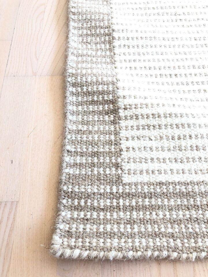 Gulvtæppe, ægte tæppe, Kelim 100% Uld - HELT NYT