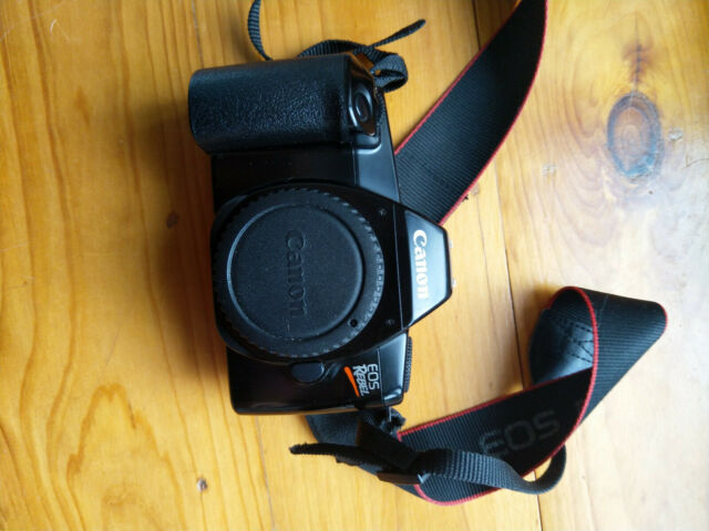 [TESTED / WORKING] Canon Eos Rebel 35mm SLR film camera NO STICKY SHUTTER