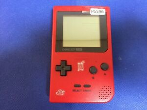 P6596-Nintendo-Gameboy-pocket-console-Red-GBP-Japan-Junk-For-parts-DHL