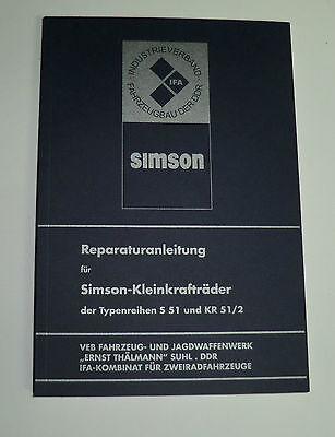 Reparaturanleitung f/ür S51 ohne Schaltpl/äne Schwalbe KR51//2