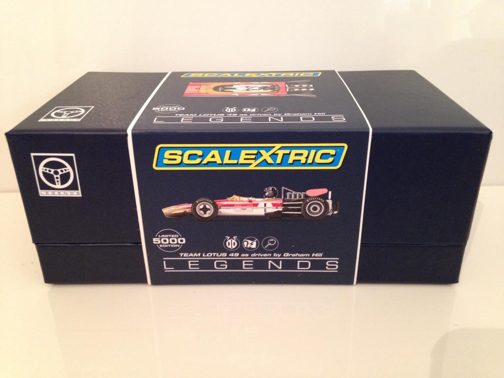 Scalextric C3701A  Lotus 49 Condotto da Graham Collina  più preferenziale