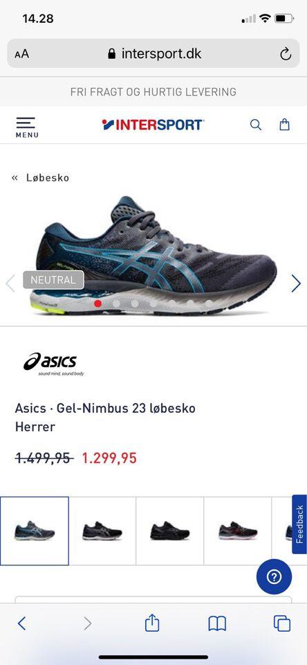 Løbesko, Løbesko , Asics gel nimbus