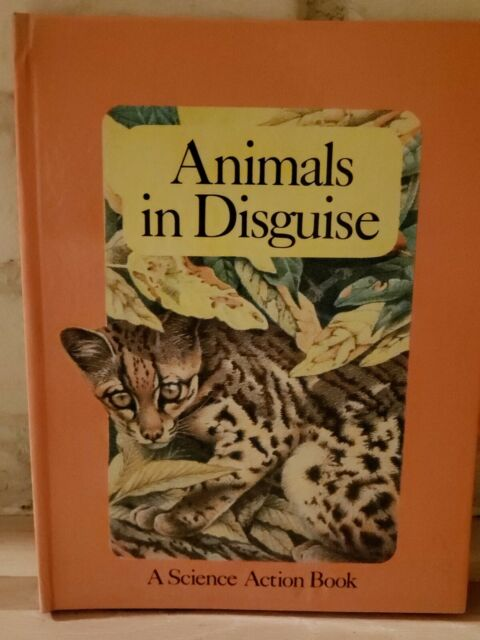 VTG 1985 First Edition Pop-up Animals in Disguise A Science Action Book