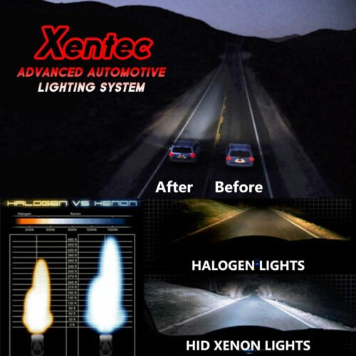 Two Xentec 35W 55W HID Xenon Light Kit REPLACEMENT BULBS H1 H3 H4 H7 9006 5202
