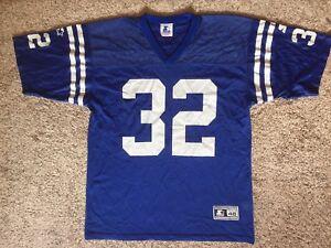 sale retailer d4572 084ac VTG NFL Indianapolis Colts #32 Edgerrin James Starter Jersey ...
