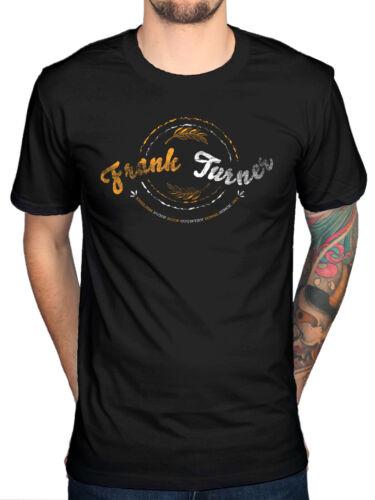 Official Frank Turner Circles T-Shirt Folk Punk Rock Tape Deck Heart Fan Merch