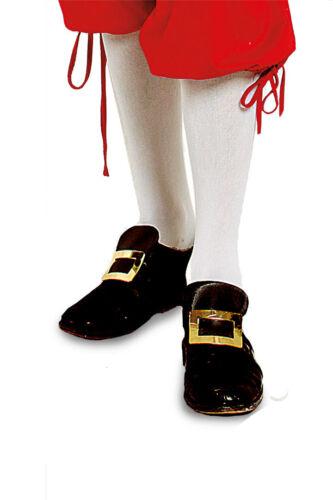 Kniestrumpf Weiß Mozart Barock Garde Baumwolle oder Nylon Blickdicht Spitze