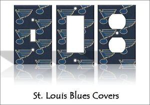 Image Is Loading St Louis Blues Light Switch Covers Hockey Nhl
